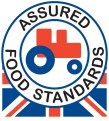 Red Tractor - the mark of quality British produce.