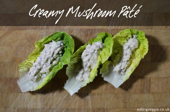 Creamy Mushroom Pate