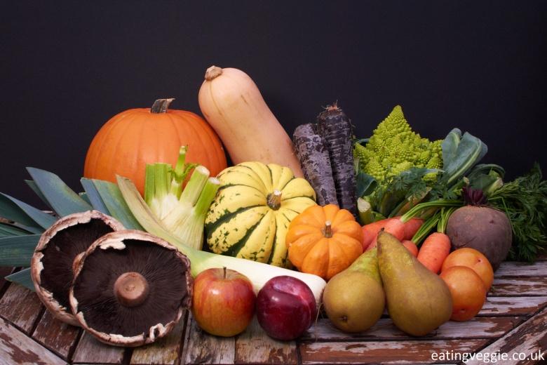 Autumn season: Fruit and Veg