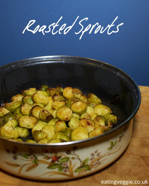 Roasted Sprouts - perfect for any occasion!