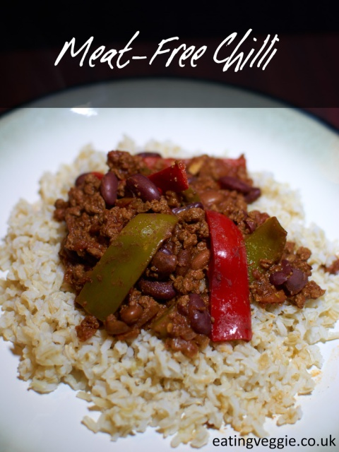 Meat-Free Chilli