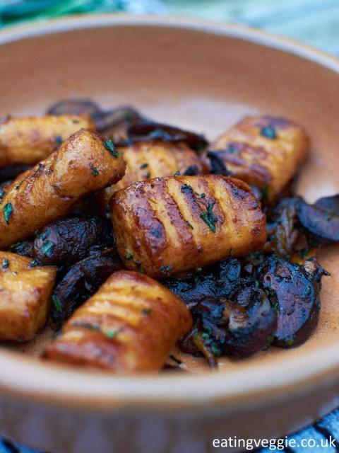 Sweet Potato Gnocchi - close up