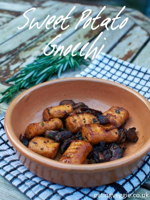 Sweet Potato Gnocchi, Vegan + Gluten Free